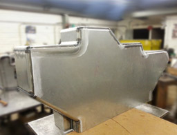 Custom Fabricated Safety Guard